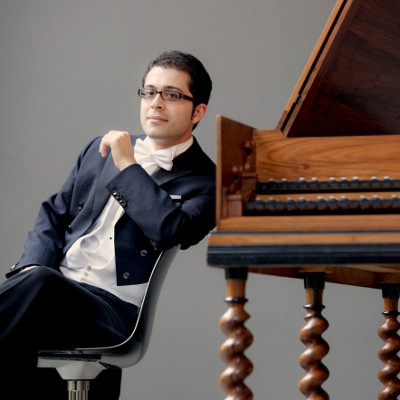 Harpsichordist Mahan Esfahani (Photo: Marco Borggreve)