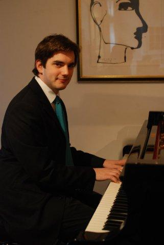 Bradley Burgess, pianist