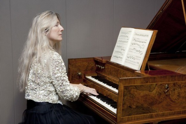 Jane Chapman playing the 1772 Kirckman harpsichord