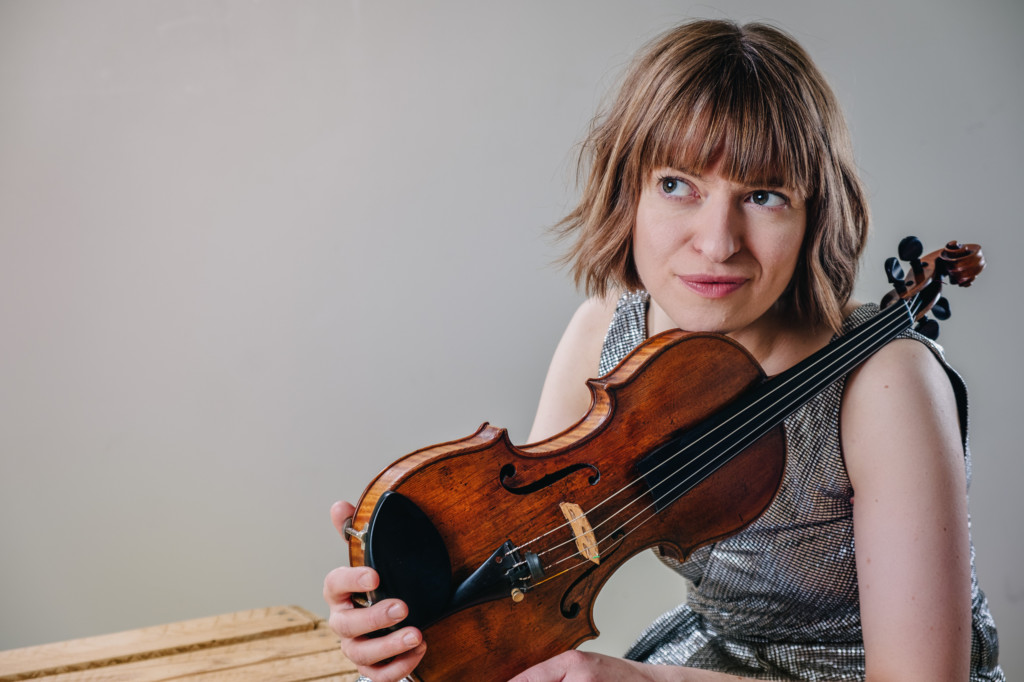 Meet the Artist – Fenella Humphreys, violinist – The Cross