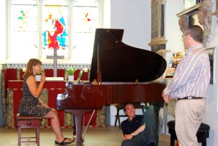 Improvisatory fun and games with Dr Mark Polishook at a London Piano Events one-day workshop