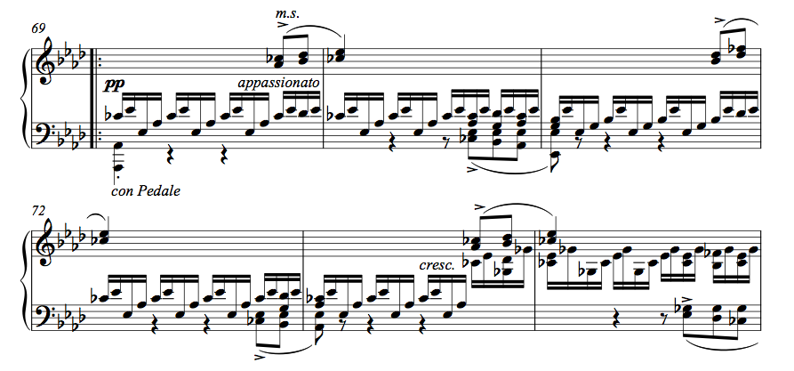 Schubert 3rd impromptu