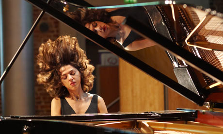 Pianist Khatia Buniatishvili (Photograph: Andy Hall)