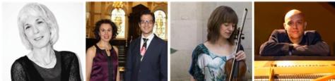 Kathron Sturrock, Melicus Duo, Fenella Humphreys, Viv McLean