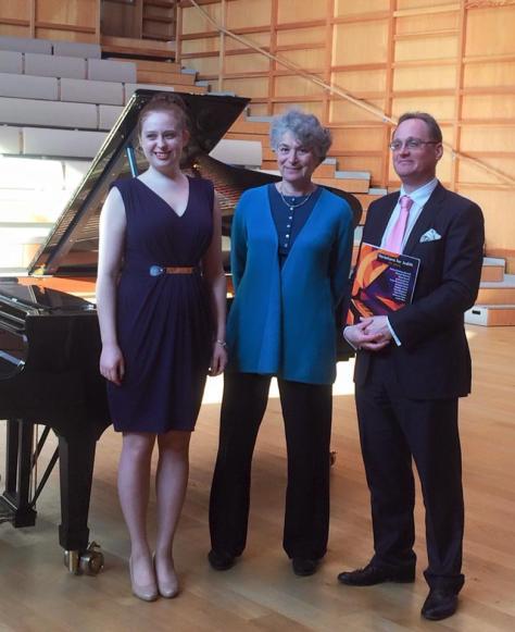 Kathryn Cox, soprano, Judith Serota & Daniel Harding, piano