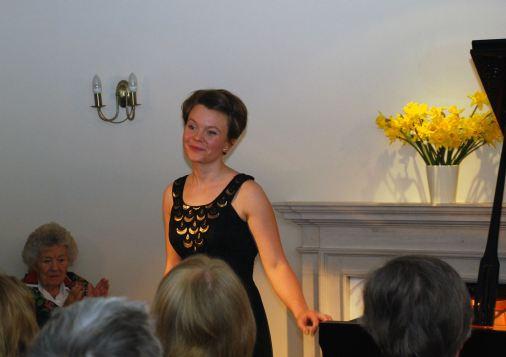 Pianist Clare Hammond at Breinton