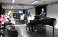 A class at the Summer School for Pianists, Walsall