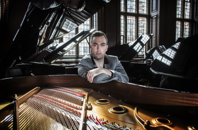 Pianist Nicholas McCarthy showcases his debut album 'Solo'