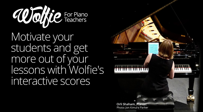 Wolfie – a music app which makes practising fun