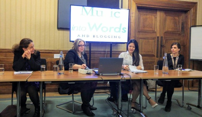 Music into Words – live event on writing about classical music