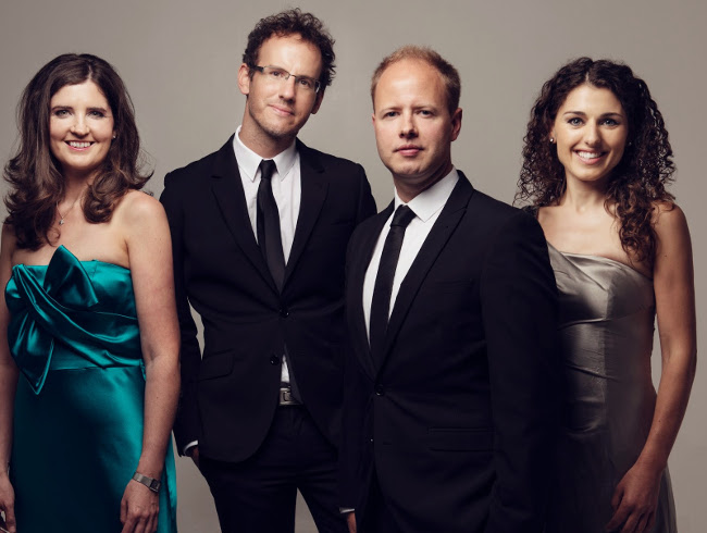 Meet the Artists…….Carducci Quartet