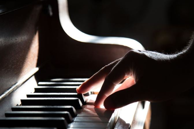 A timely reminder that the piano is for 'playing'