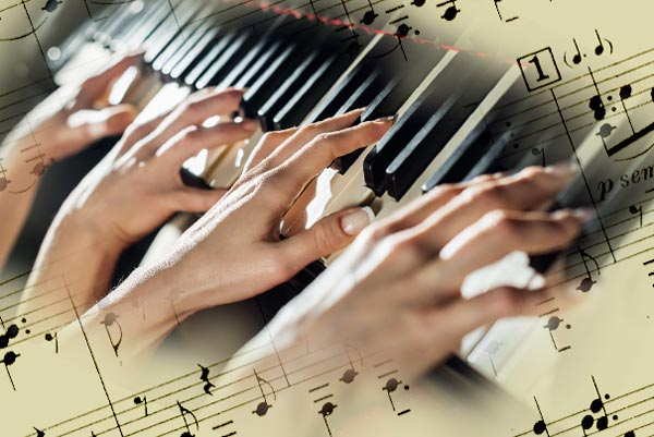 Four hands, one keyboard – a playlist for IDAGIO