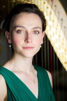 Anne Denholm, harp