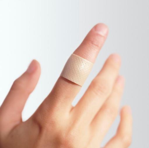 sticking-plaster-on-a-finger-cristina-pedrazzini