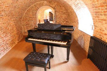 The cellar at Finchcocks
