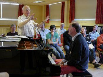 Philip Fowke teaching at Chets