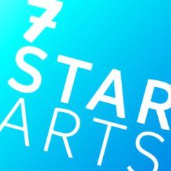 7-star-arts-logo-white-on-blue-square-100mm-300ppi-300x300-1