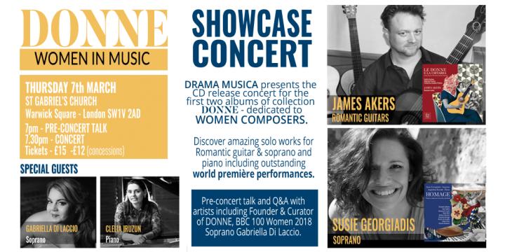 DONNE Showcase Concert