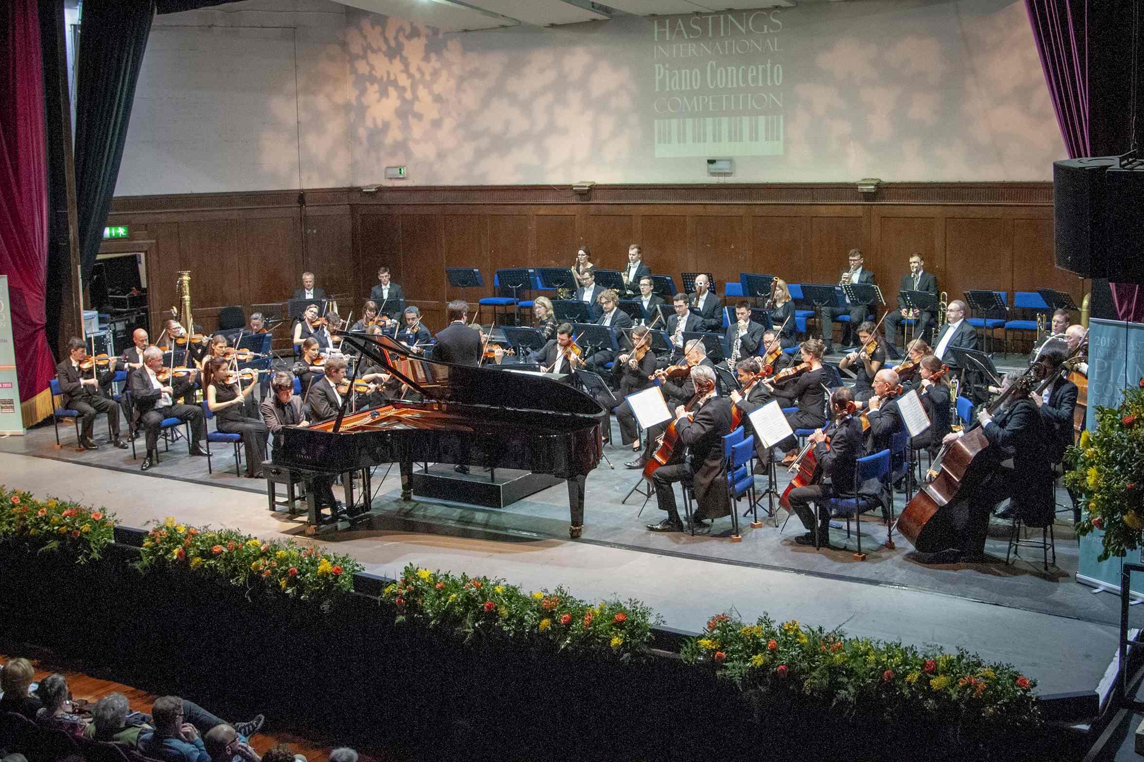 Winner of 2019 Hastings International Piano Concerto