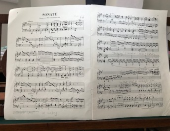 Original working score