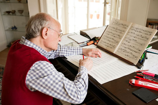 Meet the Artist – John Rutter, composer